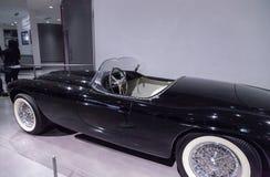 Black 1952 Ferrari Inter Spyder Barchetta Stock Images