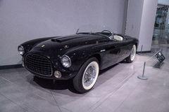Black 1952 Ferrari Inter Spyder Barchetta Stock Photography