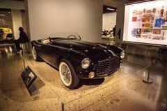 Black 1952 Ferrari 212-225 Inter Spyder Barchetta Stock Image
