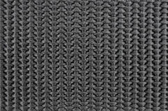 Black textile texture Stock Photography