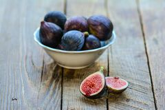 Black fig Stock Images