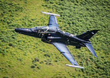 Black fighter jet T2 Hawk Stock Photos