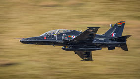 Black fighter jet T2 Hawk Stock Images