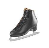 Black figure skates Stock Photo