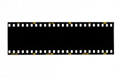 Black film strip