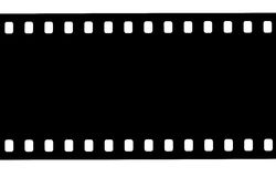 Blak and white film strip