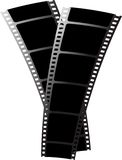 Black film x2 Stock Photos