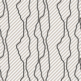Black fine diagonal rough line pattern black and white. Striped background for wrap paper, textile, apparel or web tiles Royalty Free Stock Photography