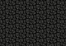 Black firework blast pattern design wallpaper. For background use or for image or text layout stock illustration