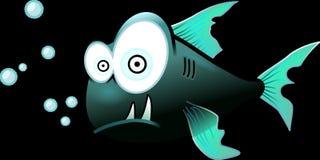 Black, Fish, Cartoon, Vertebrate Royalty Free Stock Image