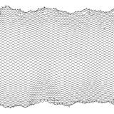 Black fisherman rope net vector seamless texture isolated on white. Fisherman netting for hunting, fiber surface illustration royalty free illustration