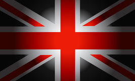 Black Flag British. Stylish Black Flag British vector Stock Photos