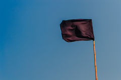 The black flag Stock Images