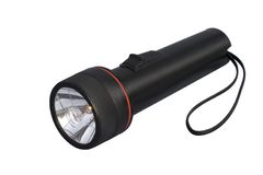 Black Flashlight stock photos