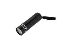 Black flashlight Royalty Free Stock Photography