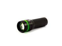 Black flashlight Stock Photo