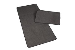 Black floor mats Royalty Free Stock Images