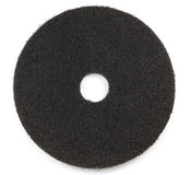 Black floor Pad scrub buff Stock Photography