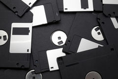 Free Black Floppy Disks Stock Images - 15577514