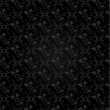 Black floral background Stock Photography
