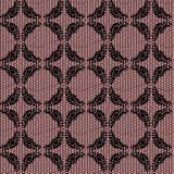 Black floral net lace Royalty Free Stock Photos
