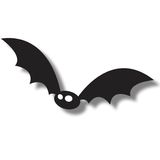 Black flying bat Stock Photos