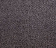 Black foam rubber Royalty Free Stock Images