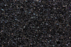 Black foam texture. / background with colorful reflections Stock Photography
