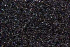 Black foam texture Stock Photography