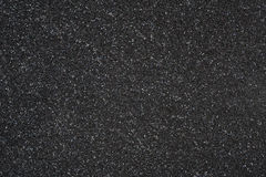 Black foamed plastic as a background Royalty Free Stock Image