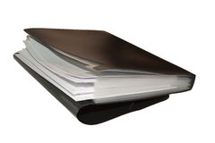 Black folder Stock Photo
