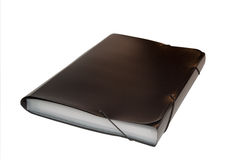 Black folder Royalty Free Stock Photography