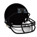 Black football helmet Stock Images