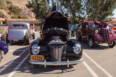 Black 1940 Ford Deluxe Sedan Royalty Free Stock Photos