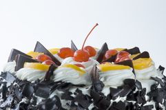 Black Forest. Yummy, all-occasion cake Stock Photo