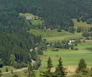 Black Forest aerial view Stock Photography