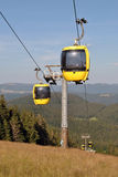 Black Forest - Belchen cableway Royalty Free Stock Images