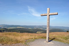 Black Forest - Belchen top Royalty Free Stock Image