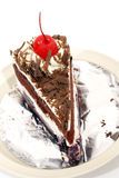 Black forest cake Royalty Free Stock Photography