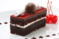 Free Black Forest Cake Royalty Free Stock Image - 7767376