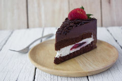 Black forest cake. Stock Image