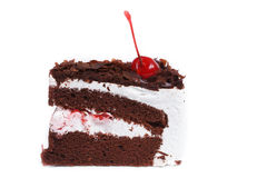 Black forest cake. Royalty Free Stock Images