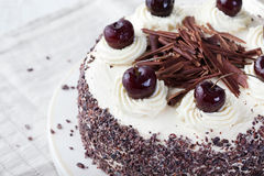 Black forest cake, Schwarzwald pie Stock Photo