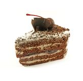 Black Forest Cake Slice Stock Images