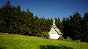 Black Forest Chapel Royalty Free Stock Images