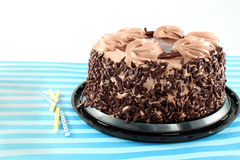 Black forest chocolate cake Royalty Free Stock Photography