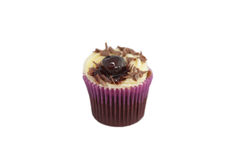 Black Forest cupcake Stock Photos