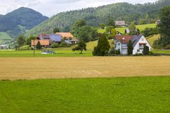 Black Forest in Germany Stock Images