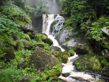 Black forest, Germany. The Triberg waterfalls Royalty Free Stock Photos