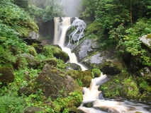 Black forest, Germany. The Triberg waterfalls Stock Photo
